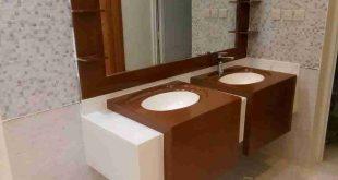 صورة ديكورات مغاسل رخام , اشكال لديكورات حمامات