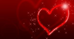 صورة قلب حب احمر , قلوب في الواتس اب