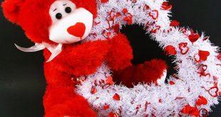 صورة دباديب عيد الحب , دولاب دباديب عند البنات