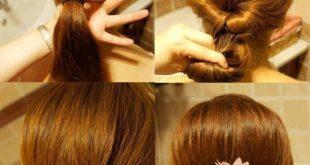 صورة ابسط تسريحات الشعر , اجدد صيحات الشعر