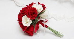 ورود حمراء وبيضاء , احلي واجمل صور باقات الورد