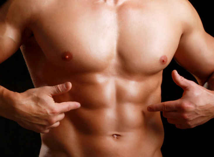 صورة علامات تمزق عضلات البطن , اعراض تمزق البطن