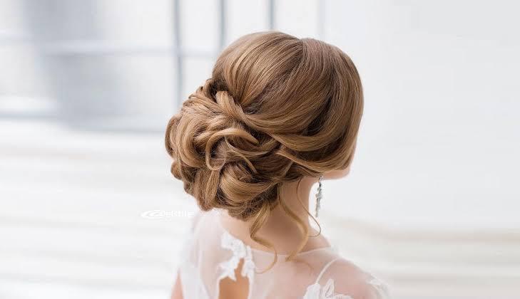 صورة تسريحات شعر عروس , تسريحه روعه للعروسه