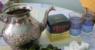 تحضير الشاي المغربي